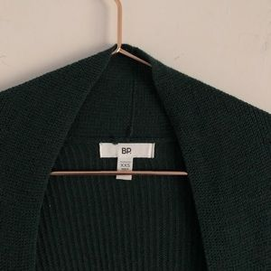 bp Sweaters - BP   Long Line Forest Green Cardigan
